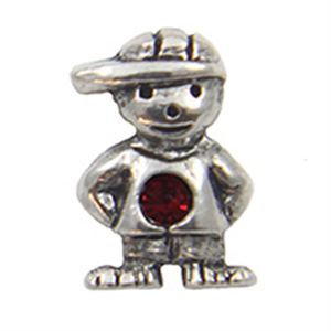 Picture of January Boy Birthstone Charm
