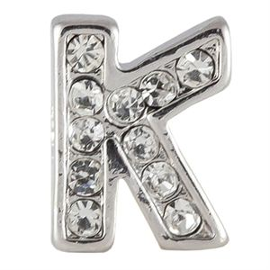 Picture of Silver 'K' Charm